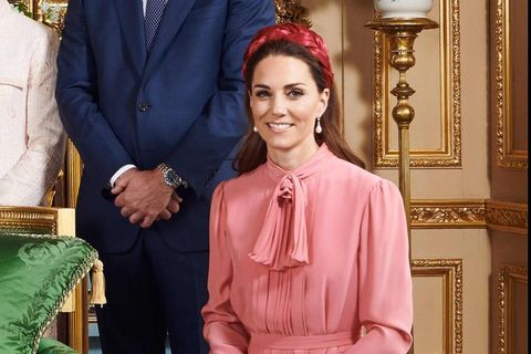 凱特王妃的髮飾穿搭