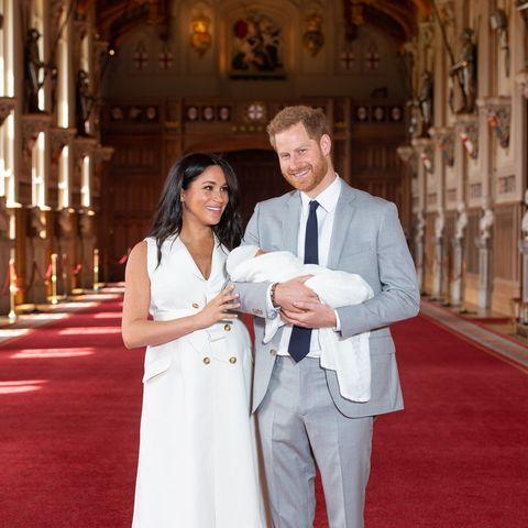 Harry and Meghan's newborn son, Archie Harrison Mountbatten-Windsor