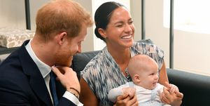 Baby Archie Mountbatten-Windsor, godparents, Meghan, Harry