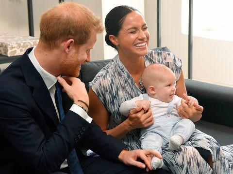 Baby Archie Mountbatten-Windsor, godparents,Meghan, Harry