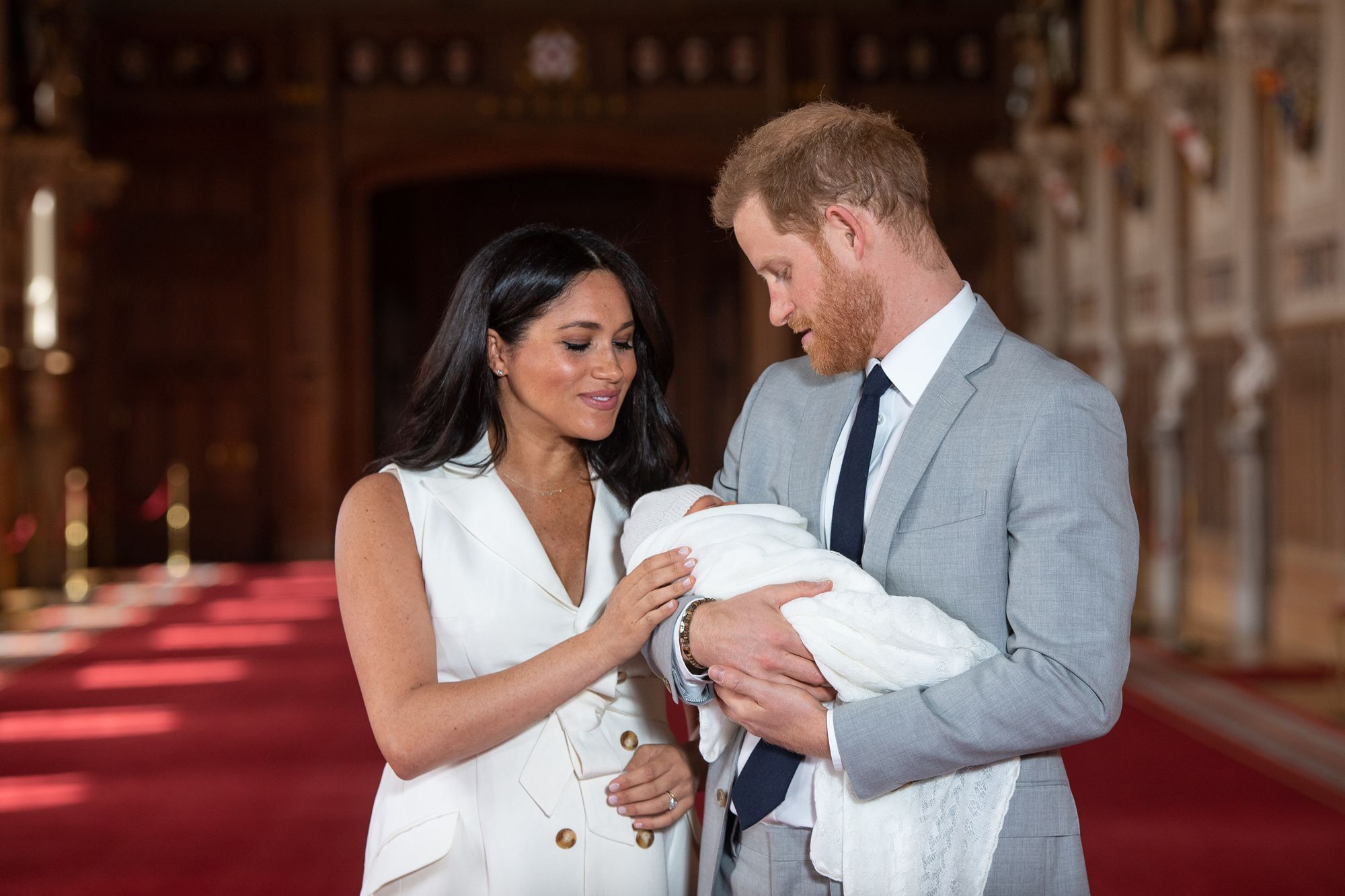 Baby Archie's christening details reportedly revealed as Prince Harry and Meghan Markle choose traditional baptism
