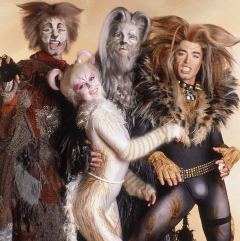 Cast of the Musical Cats During Paris Season