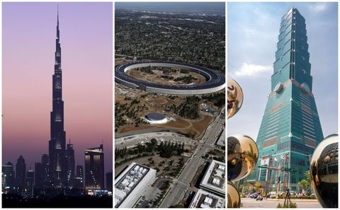 The world's most advanced buildings