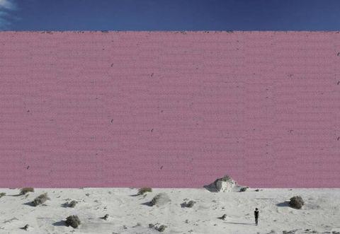 Purple, Colorfulness, Pink, Sand, Violet, Magenta, Maroon, Building material, Aeolian landform,