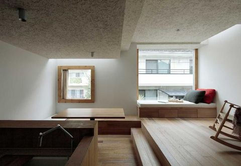 Architettura giapponese moderna per una casa a tokyo for Architettura interni case