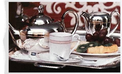 silverware in picasso's home