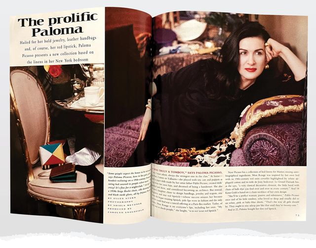 paloma picasso in hb 1992 issue