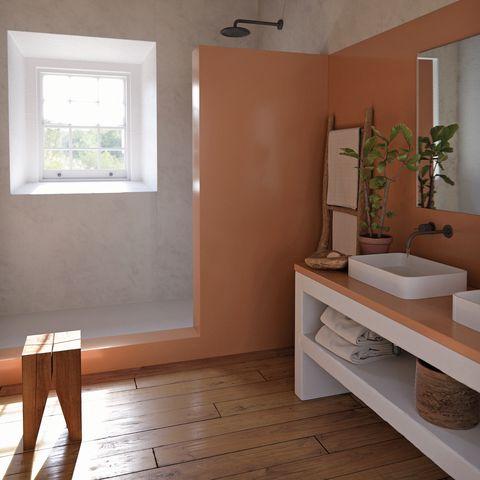 silestone bathroom shower tray