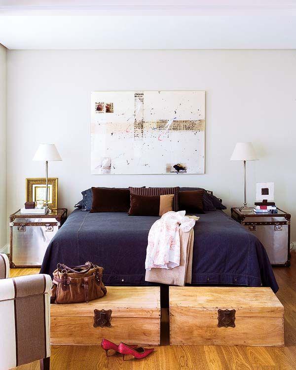 Muebles Para Decorar El Pie De La Cama Decoración Dormitorios