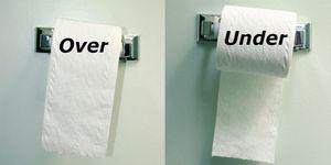 トイレットペーパーの向き,    トイレ, トイレットペーパー, 手洗い, 食中毒, 病院, 研究