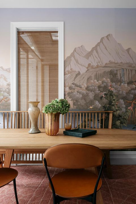 18 Dining Room Wallpaper Ideas That Ll, Dining Room Murals Pictures