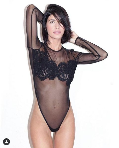 Lingerie, Clothing, Undergarment, Thigh, Beauty, Model, Brassiere, Leotard, Leg, Lingerie top,