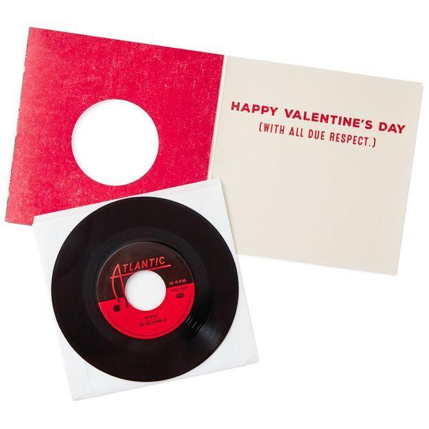 Hallmark Vinyl Valentines Day Card
