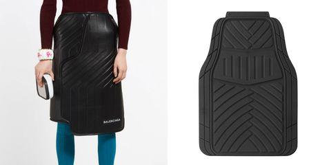 3b272a291c Argos is  flattered  Balenciaga has taken inspiration from its car mat