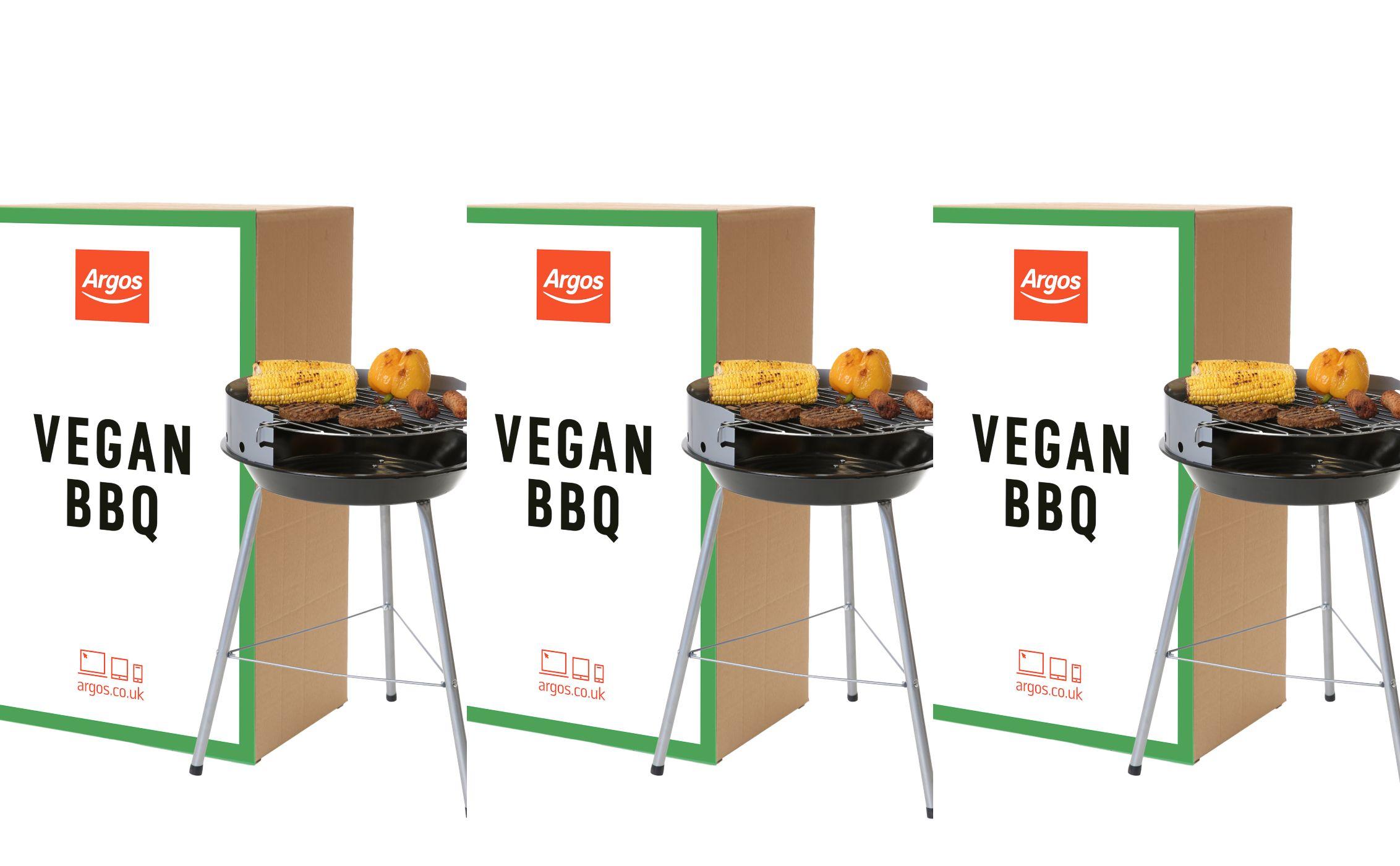 Argos launch Vegan BBQ  sc 1 st  House Beautiful & Argos Launches Worldu0027s First Vegan BBQ - Argos Barbecues