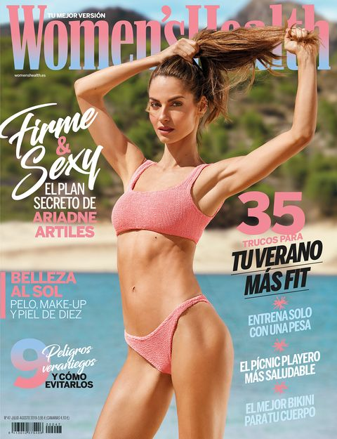 ariadne artiles portada women's health julio