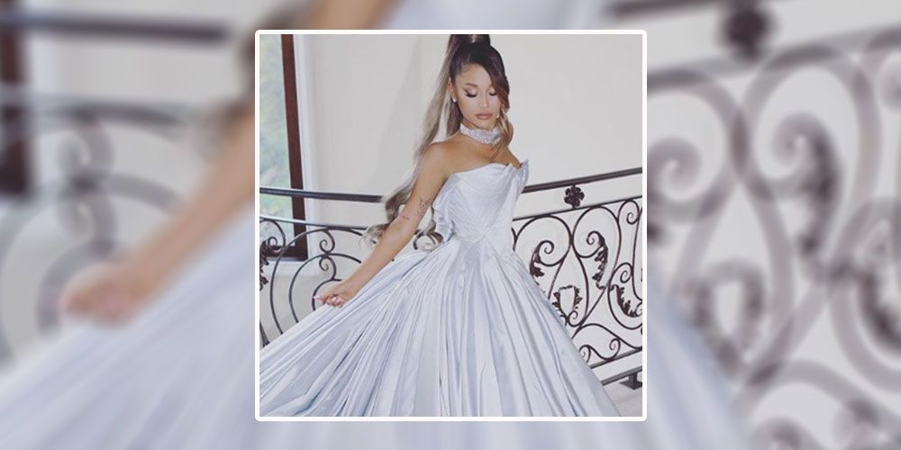 ariana grande, grammys, dress