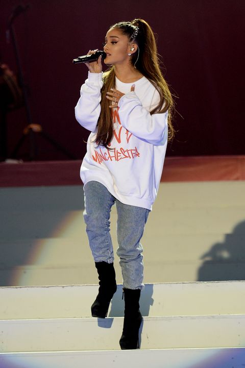 Ariana Grande Says She Was Terrified To Sing On Stage