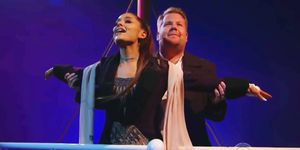 ariana grande and james cordens titanic