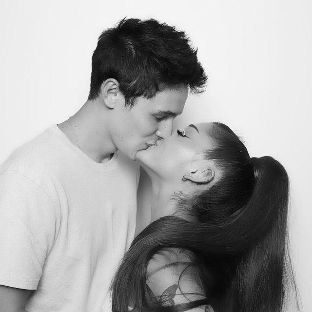 ariana grande dalton gomez kiss