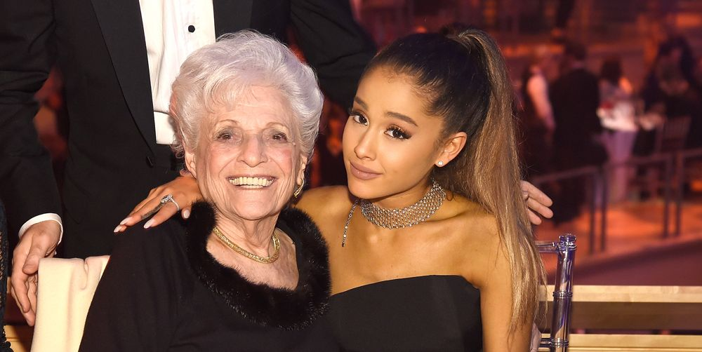 ariana grande grandmother tattoos