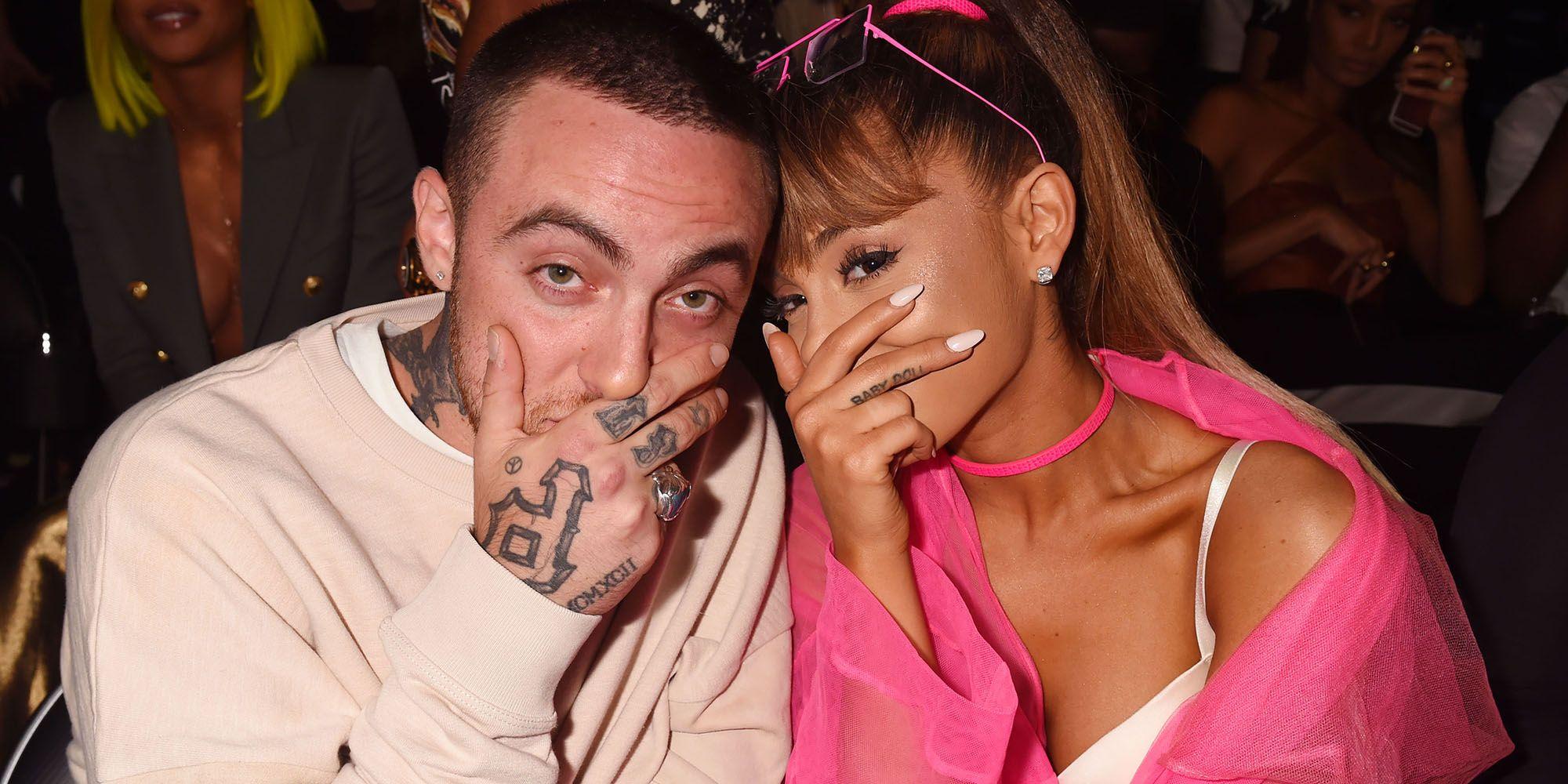 Ariana grande dating mac miller ellen