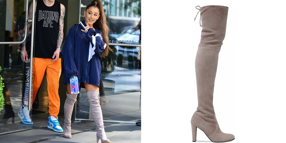 Ariana Grande S Favorite Over The Knee Boots Are 50 Off