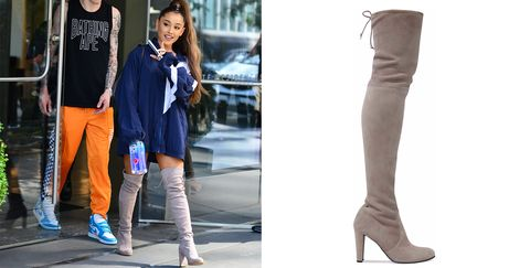 d7a64c1f9196 Ariana Grande s Favorite Over-the-Knee Boots Are 50% off
