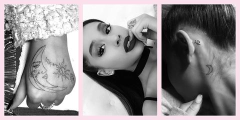 ariana grande tattoos