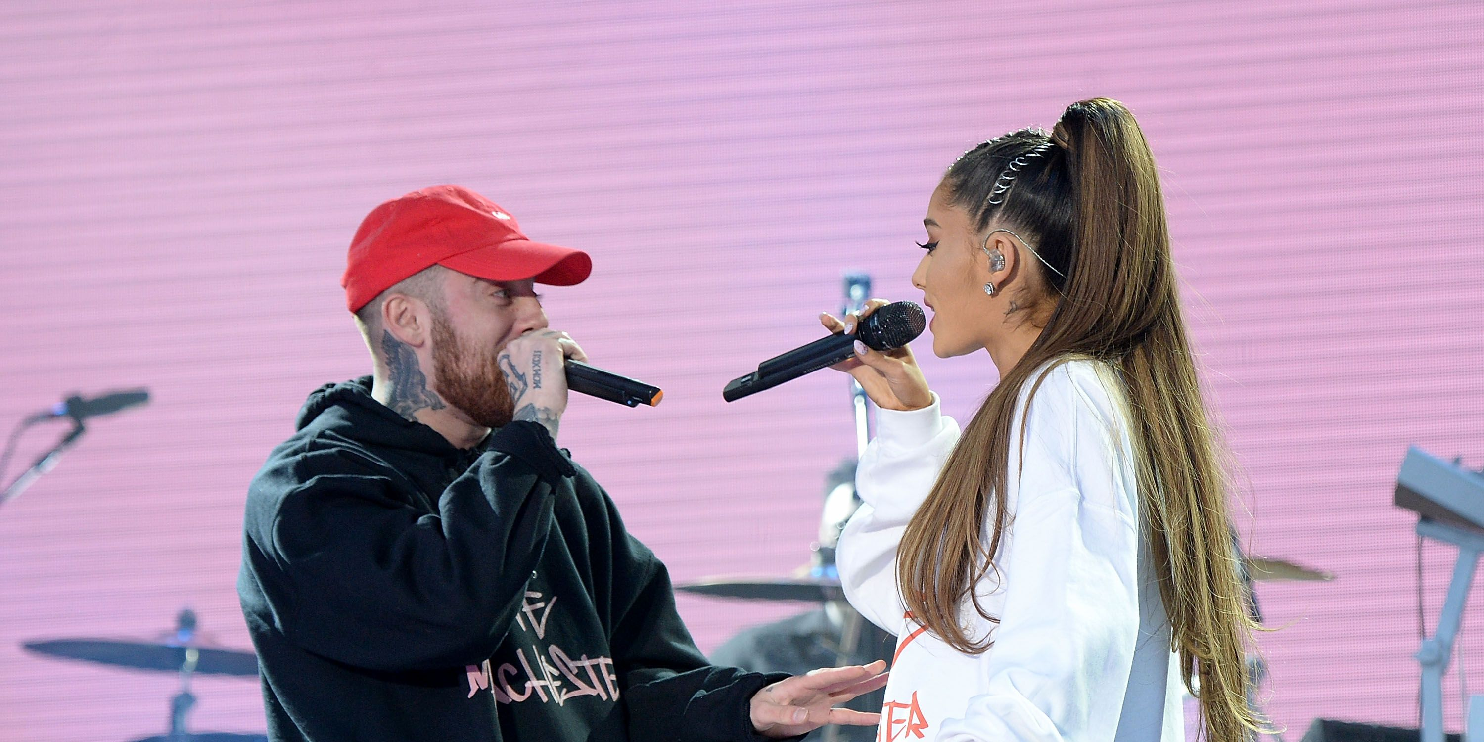"Ariana Grande says Mac Miller is ""supposed to be here"" in sweet Twitter comment"