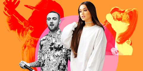 Rapper Mac Miller's Ex-Girlfriend Ariana Grande Wrongly