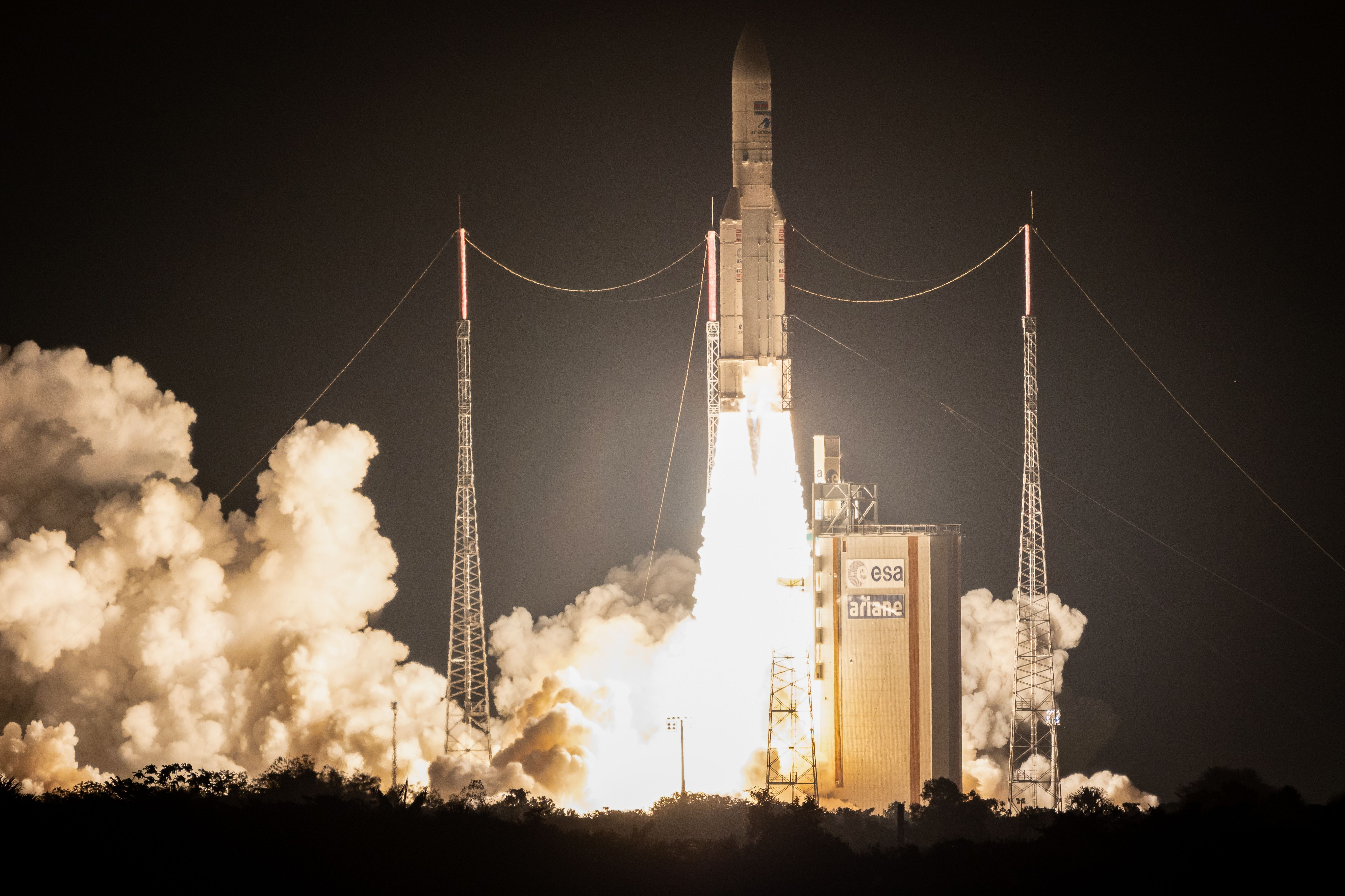 How American Space Launch Left Europe in the Dust