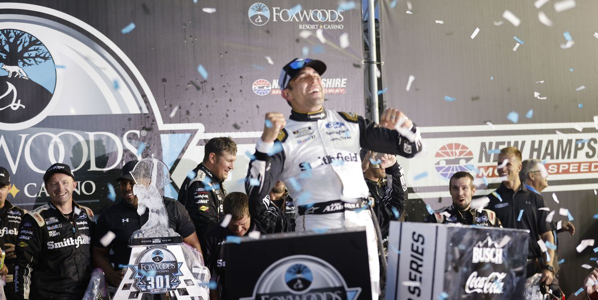 Aric Almirola Overcomes Pressure to Upset NASCAR Playoff Picture