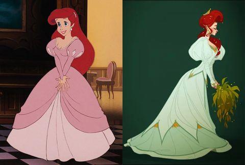 princesas disney traje epoca real