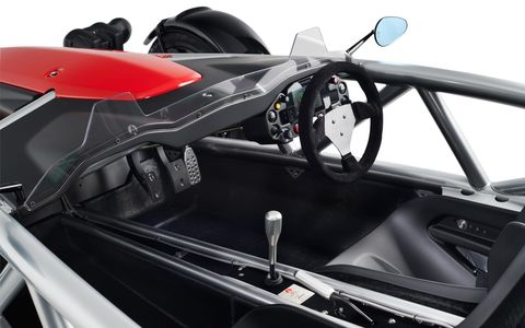 Land vehicle, Vehicle, Car, Automotive design, Automotive exterior, Auto part, Ariel atom, Performance car, Wheel,