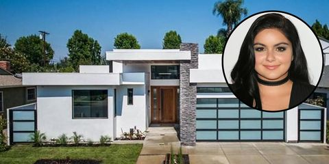 Ariel Winter house in Sherman Oaks