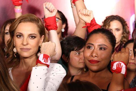 Ya es hora, protesta de las actrices