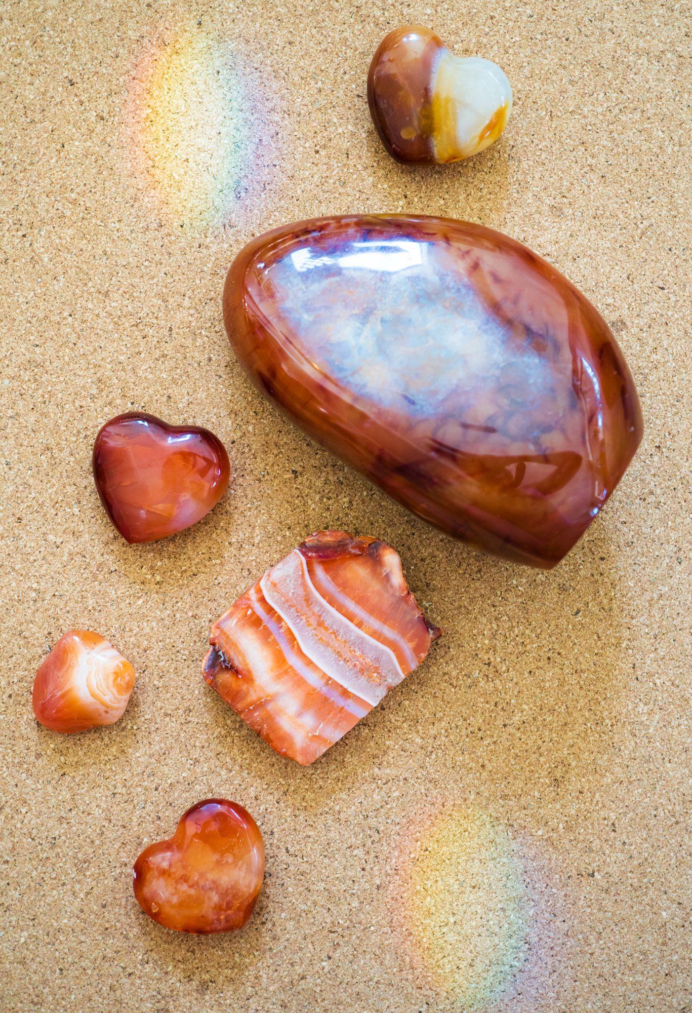 healing crystals aries carnelian