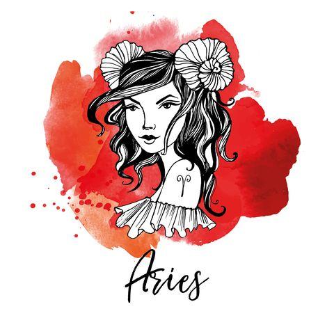aries zodiac signs girl