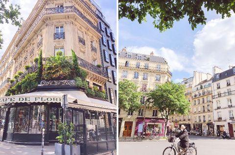 パリでは5月11日月曜日から段階的に外出制限が解除され、私も2ヶ月ぶりに外出致しました。レストラン、カフェはまだ閉まっているものの、ブティックや小さいお店は営業を再開。まだ制限解除2日目5月12日現在ということもあり、お買い物を楽しむ方はあまり見られませんでしたが、これからまた通常の生活に戻していこうという活気を少し感じ取ることができました。 パリは来週から27度まで上がり、夏の気候に移りつつあります。大好きなカフェのテラスで友達と乾杯するのが待ちきれません。