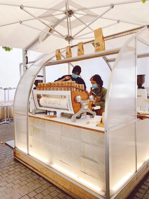 日本人オーナーのコーヒーショップ