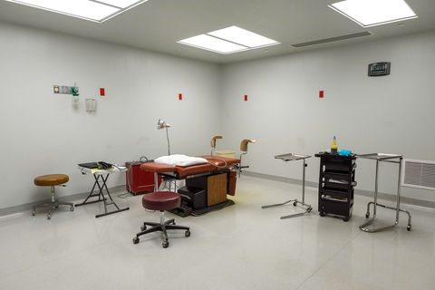 one of the two operating rooms at trust women in wichita, kansas