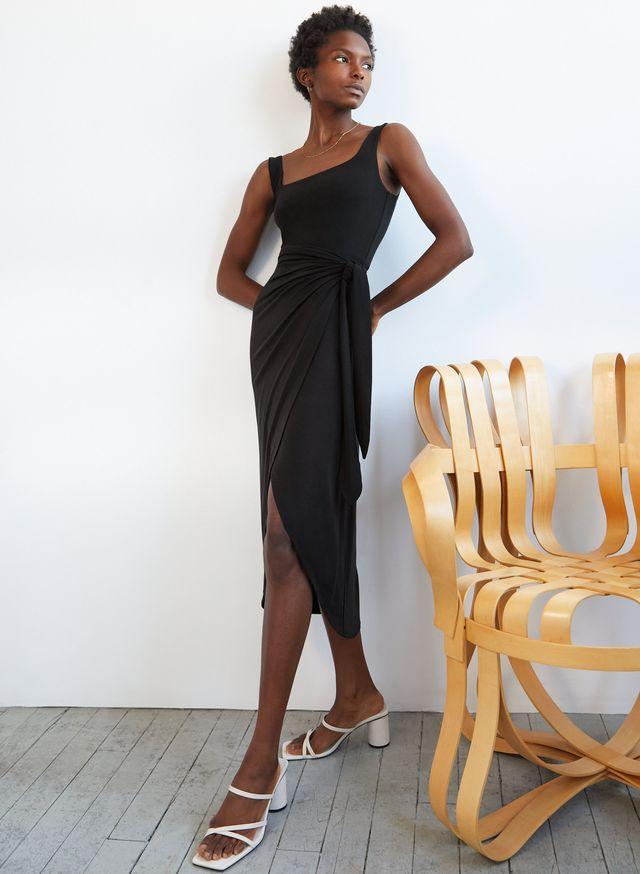 aritzia tencel dress