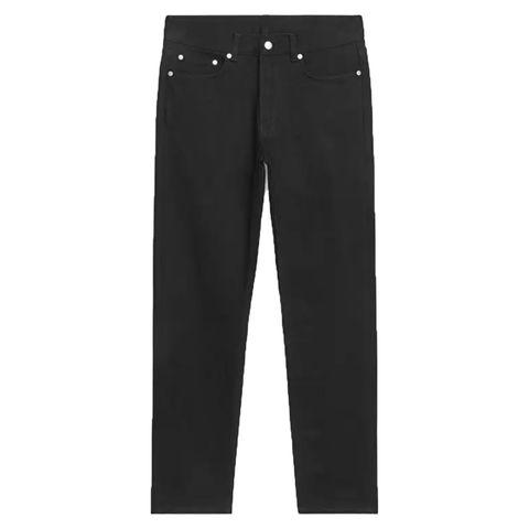 arket zwarte regular jeans