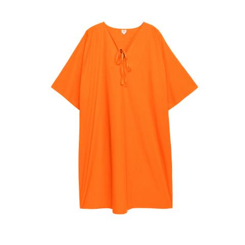arket oranje kaftan