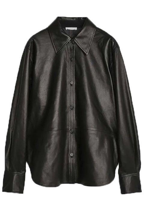 Leather shirt