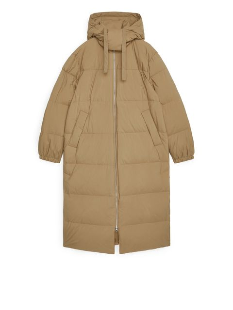 puffer coat recycle arket