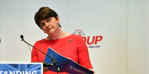 Arlene Foster leader of Democratic Unionist Party
