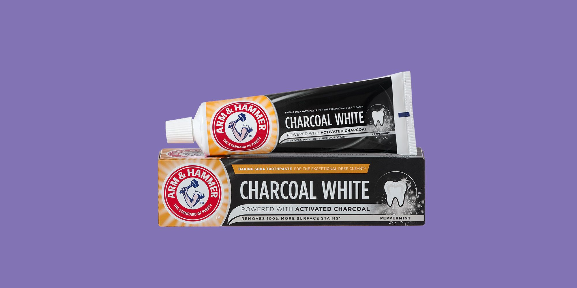 Arm & Hammer Charcoal White