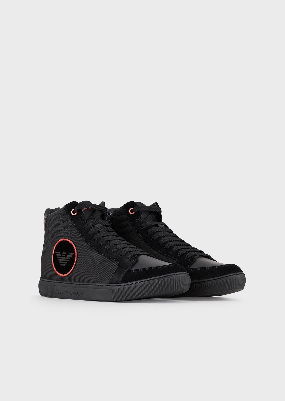 sneakers uomo alte converse pelle